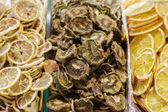 Candies in spice bazaar in istanbul,Turkey — Stock Photo