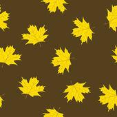 Patrón de hojas de arce — Vector de stock