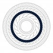 Round rope elements, frames, borders — Stock Vector #50312359