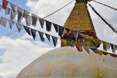 Buddhist temple in Nepal — Stock fotografie