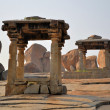 Abandoned ruins in Hampi, India — Stock Photo