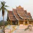 Stock Photo: Old Buddhist temple in Laos