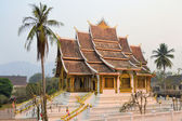 Old Buddhist temple in Laos — Stock Photo