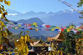 Buddhist monastery in Muktinath, Nepal — Stock Photo