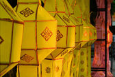 Beautiful thai paper lanterns, Chiang Mai — Foto Stock