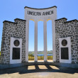 "Monument Germimmigrants Chile ""Unsern Ahnen"" — Stock Photo #41655659"