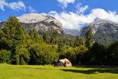 Camping in Cochamo national park, Patagonia — Foto Stock