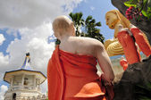 Golden Buddha of Dambulla, Sri Lanka. — Foto de Stock