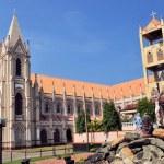Catholic church with towers in Negombo, Sri Lanka — Stock Photo #48385861