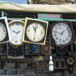 Foto Stock: Wall clock shop