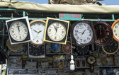 Wall clock shop — Stock Photo