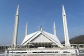 Great Faisal mosque Pakistan Islamabad — Stock Photo