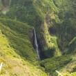 Waterfall in Reunion — Stock Photo
