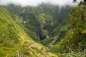 Waterfall in Reunion — Stock Photo
