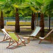 Deck chairs — Stock Photo #37940779