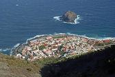 Garachico - View from above — Zdjęcie stockowe