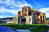 Gothic church. Castro Urdiales. Spain. — Photo