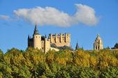 Alcazar of Segovia. Spain. — Stock Photo