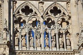 Front. Cathedral of Burgos. Spain. — Stock Photo