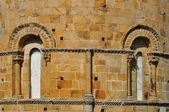 Romanesque Collegiate. Cantabria. Spain. — Stock Photo