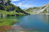 Covadonga lakes. Spain. — Stock Photo