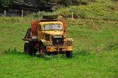 Old truck. Lanestosa. Spain. — Stock Photo