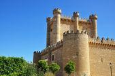 Castle. Fuensaldaña. Spain. — Stock Photo