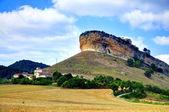 San Pantaleon de Losa. Burgos. Spain. — Foto de Stock