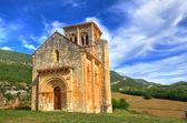 Romanische kirche. san pedro de tajada. burgos. spanien. — Stockfoto