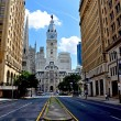Stock Photo: Town hall. Philadelphia. USA.