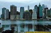 Profile of Manhattan. New York. USA. — Foto Stock