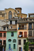 Houses. Estella. Spain. — Stock Photo