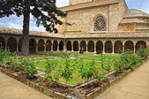 Cloister. Estella. Spain. — Foto Stock