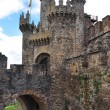 Stock Photo: PonferradCastle. Leon. Spain.