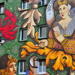 Stock Photo: Mural. Vitoria-Gasteiz. Spain.