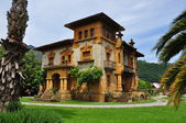 Mansion. Cangas de Onis. Spain. — Stock Photo