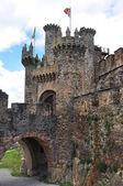 Castillo de ponferrada. leon. españa. — Foto de Stock