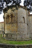 Romanesque church. Burgos. Spain. — Foto de Stock