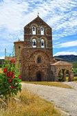 San Salvador de Cantamuda. Palencia. Spain. — ストック写真