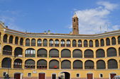 Bullring. Tarazona. Spain. — Stock Photo