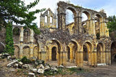 Ruins. Santa María de Rioseco. Spain. — Stock Photo
