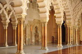 Aljaferia Palace. Zaragoza. Spain. — Stockfoto