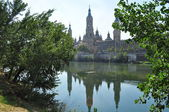 Basilica del Pilar. Zaragoza. Spain. — Foto de Stock