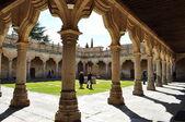 Cloister. Smaller schools. Salamanca. Spain. — Stockfoto