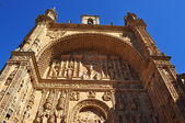Facade. San Esteban. Salamanca. Spain. — Stock Photo