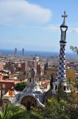 Park Guell. Barcelona. Spain — Stock Photo