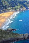 Laga plaży. ibarrangelu. hiszpania. — Zdjęcie stockowe