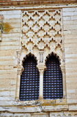 Moorish window. Tordesillas. Spain. — Photo