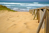 Liencres Beach. Cantabria. Spain. — Stock Photo