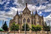 Palác episcopal. astorga. španělsko. — Stock fotografie